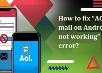 Fix AOL mail on Android not working Error