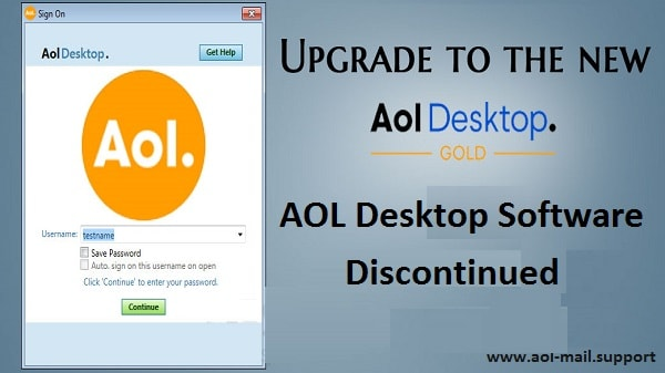 Aol Desktop Discontinued