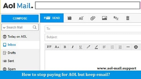 Stop paying for AOL
