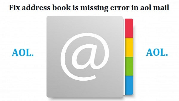 AOL error loading address book